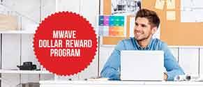 mwave dollar reward program image